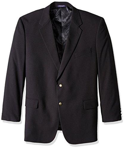 Adolfo-Mens-Black-Portly-Classic-Blazer