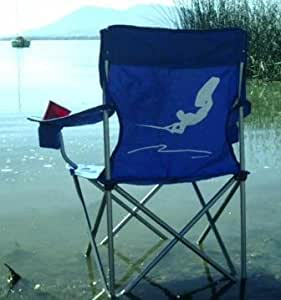 Wakeboard Bench Chair Blue Sports Outdoors
