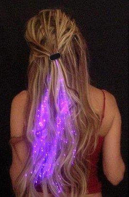 Starlight Strands Illuminating Hair Extensions (Set of 6 Hair Strands) (Assorted)