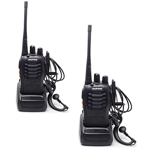 Discover Bargain Baofeng Two Way Radio BF-888S 5W CTCSS 16 Channels Built in LED Torch with Earphone...