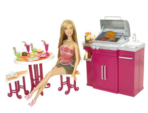 Barbie My House Barbecue & Doll