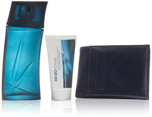 Kenzo Homme Eau De Toilette Spray 100ml Set 3 Parti