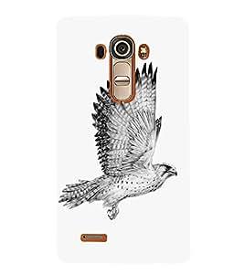 Eagle Drawing 3D Hard Polycarbonate Designer Back Case Cover for LG G4 :: LG G4 H815