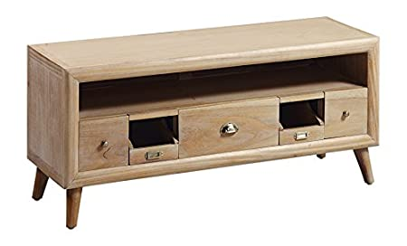 Moycor Bromo - Mueble para TV, 5 cajones, 1 hueco, 115 x 40 x 51 cm