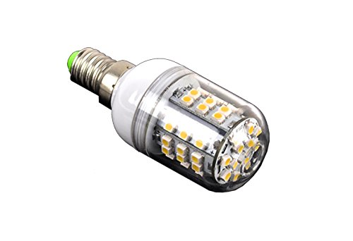 Generic 3W E14-Smd 3528 60 Led Spot Light Bulb Lamp Warm White 480Lm 200-240V