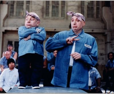 Photo D433 Verne Troyer Mike Myers Austin Powers