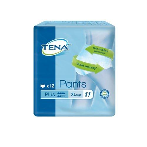 TENA Pants Plus XL - 72 pezzi (6 pacchi da 12)