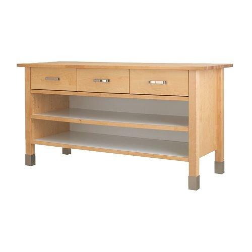 Diy Kitchen Island Ikea Cabinets ~ Unterschrank VÄRDE Bike Massivholz IKEA Küchenschrank Amazon de