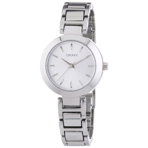 DKNY NY8831 Women's Quartz Analogue Watch-Silver Stainless Steel Strap