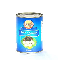 Luciana Water Chestnuts whole, 567gms