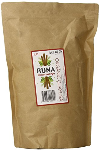 Runa Amazon Guayusa Spice Tea, Organic Cinnamon - Lemongrass, 1 Pound
