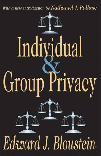 Individual & Group Privacy ( Ppr )