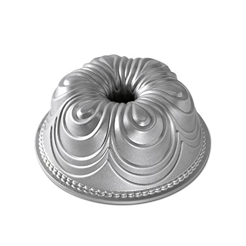 Nordic Ware Chiffon Bundt Pan, Metallic