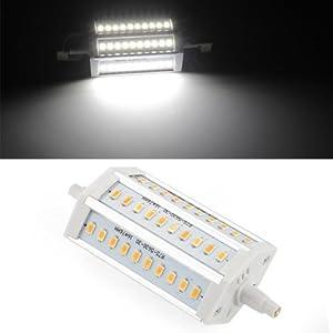 SODIAL(R) R7S/J118 12W 30 LED 5630 SMD Lmpara Bombillas 6500K 1200LM Blanco 118mm por SODIAL(R) en BebeHogar.com