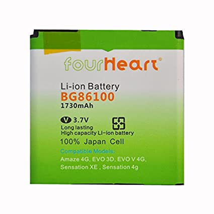 Fourheart BG86100 1730mAh Battery (For HTC Amaze 4G)