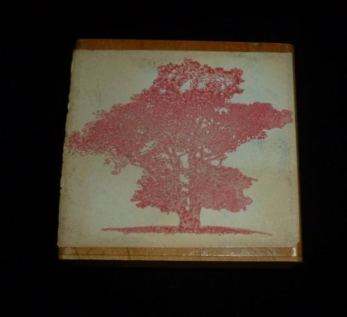 Beautiful Tree Rubber Stamp - 1