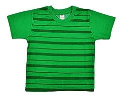 kandyfloss Boys' T-Shirt (MRHKF-BOYS'-TS-GREEN-2, Green, 3-4 Years)