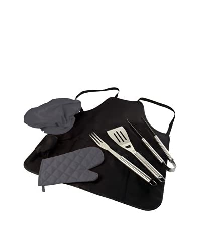 Picnic Time Pro BBQ Apron Tote with Accessories