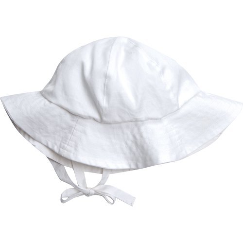 Organic Egyptian Cotton Baby Sun Hat - Fair Trade (Small 3-12 mo)