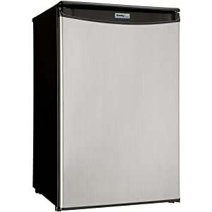 Danby DAR125SLDD 4.4 cu.ft. All Refrigerator - Spotless Steel