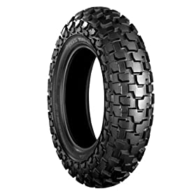 Bridgestone TW31 Tube Type Front Tire BW (D.O.T. Approved) 130/80-18 Yamaha TW200 (OE Repl.)