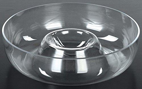 """Euro EW65028 Ware 11"""" Glass Chip 'N Dip"""