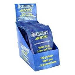 Queen Helene Batherapy Mineral Bath Salts, Sport, 1.5 Ounce (Pack of 12) [Packaging May Vary]
