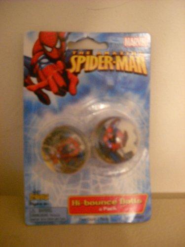 The Amazing Spiderman Hi-bounce Balls