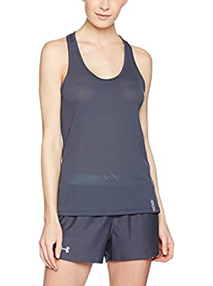 Under Armour Top Ua Fly-By Stretch Mesh Tank (Gris)