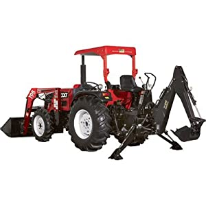 NorTrac 40XT 40 HP 4WD Tractor with Loader & Backhoe - with Ag Tires