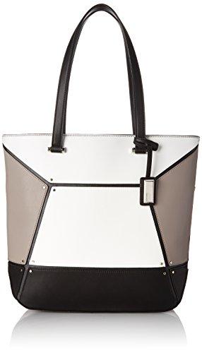 Nine West Nailed It Tote Shoulder Bag, Black Multi, One Size