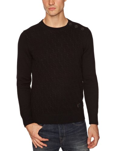 Firetrap Clade Men's Jumper Black X-Large