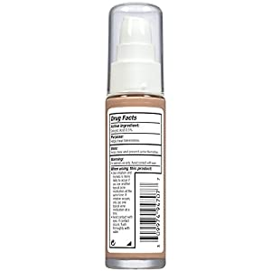Almay Clear Complexion Makeup, Hypoallergenic, Cruelty Free, Fragrance Free, Dermatologist Tested Foundation, with Salysilic Acid, True Beige, 1oz (Color: WARM, 700, Tamaño: 1 FLUID OUNCE)