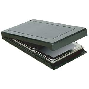 オウルテック USB3.0対応2.5inch HDD/SSD(SATA対応)用外付けHDDケース Windows8 UASP高速データ転送モード対応 ガチャポンパッmini3.0 1年保証 ブラック OWL-EGP25S/U3(B)