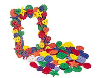 Learn More About ROYLCO R2131 Bright Buttons, Assorted Sizes, Shapes and Color, 1/2-Pound