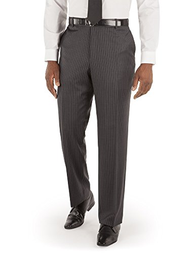 9640e17811fbe Suit Direct British Tailor Big+Tall Chalk Stripe Trouser - Classic Big And  Tall Fit Mixer Trouser