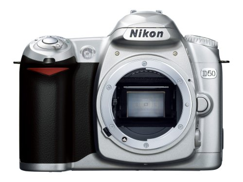 Nikon D50 Digital SLR Camera Body Only Silver
