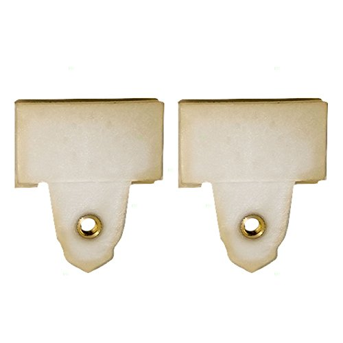 Set of Two Window Regulator Sash Connector Channel Guide Clips Replacement for Pontiac Oldsmobile 22689012 (Window Regulator Sash Connector compare prices)