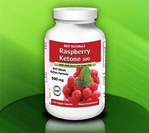 Best Naturals Raspberry Ketone, 500mg, 60 Veggie Capsule