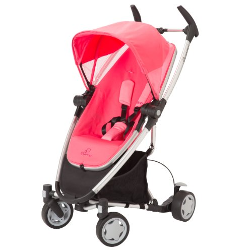 Quinny Zapp Xtra Stroller With Folding Seat, Pink Precious front-809659