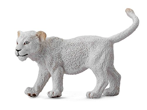 CollectA White Lion Cub (Walking) Figure - 1