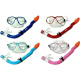 TBF KIDS set B Mask and Snorkel Set by Two Bare Feet for snorkelling
