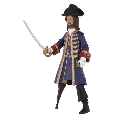 Pirates of the Caribbean On Stranger Tides Barbossa 4 inch figure - 1