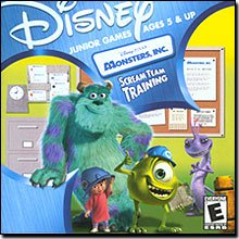 Disney Pixar Monsters Inc Scream Team Training (Jewel Case) - Ages 5 & Up