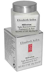 Elizabeth Arden Millenium Night Renewal Cream, 1.7-Ounce Box