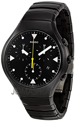 Rado Men's R27815162 True Black Black Ceramic Bracelet Watch