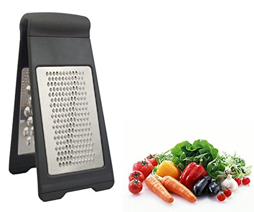 TopEs Cheese Grater Non-slip Rubber Feet-easy to Grate or Zest Fruit and Vegetable (Silicone Grate Feet compare prices)