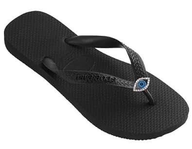 Amazon.com: Dini's HAVAIANAS Fashion Jeweled Flip Flops