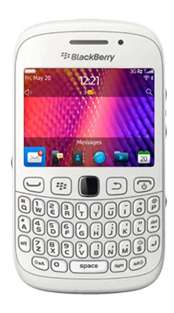 Blackberry Curve 9320 Mobile Phone on / Vodafone / Pre-Pay / Pay as you go / PAYG - White Black Friday & Cyber Monday 2014