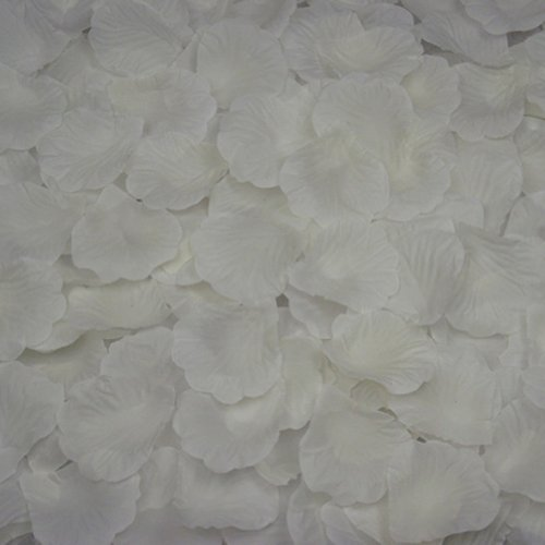 AutoM 1000 PCS Fabric Silk Flower Rose Petals